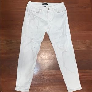 WHBM white jeans